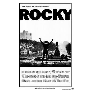 Rocky Poster Poster Print