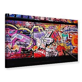 Lærred Print Graffiti vægkunst