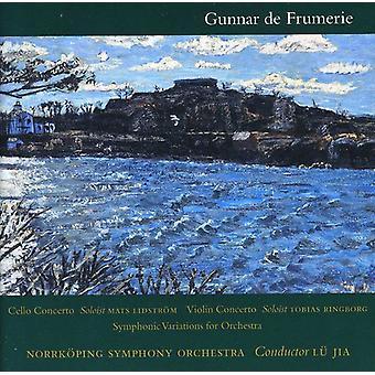 Gunnar De Frumerie - Cello koncert/Violin Concerto/symfoniske Variation [CD] USA import