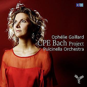 Bach / Gaillard - Cello Ctos Sinfonia 5 [CD] USA import