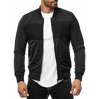 Men's bomber jackets transition jacket Blouson black H2001