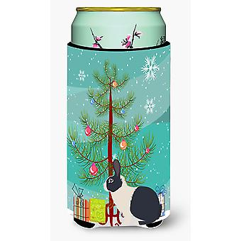 Niederländische Rabbit Weihnachten großer Junge Getränk Isolator Hugger