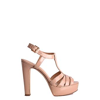 Michael Kors women's MCBI208174O pink leather sandals