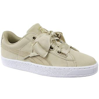 Puma Basket Heart Metallic Safari 36408301 universal all year women shoes