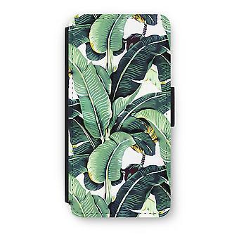 iPhone 6/6S Plus Flip Case - banan lämnar