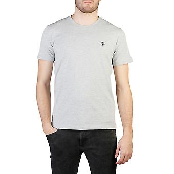 U.S. Polo Men T-shirts Grey
