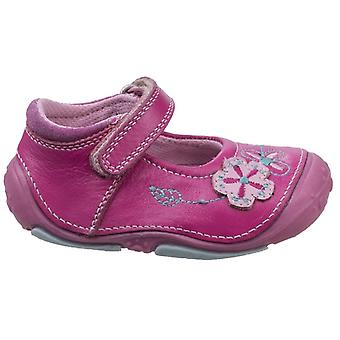 Hush Puppies flickor Lara före walker skor rosa F montering
