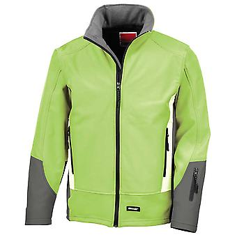 Result Mens Blade 3 Layer Softshell Breathable and Windproof Jacket