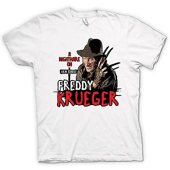 Womens T-shirt - Nightmare On Elm Street - Freddy Krueger