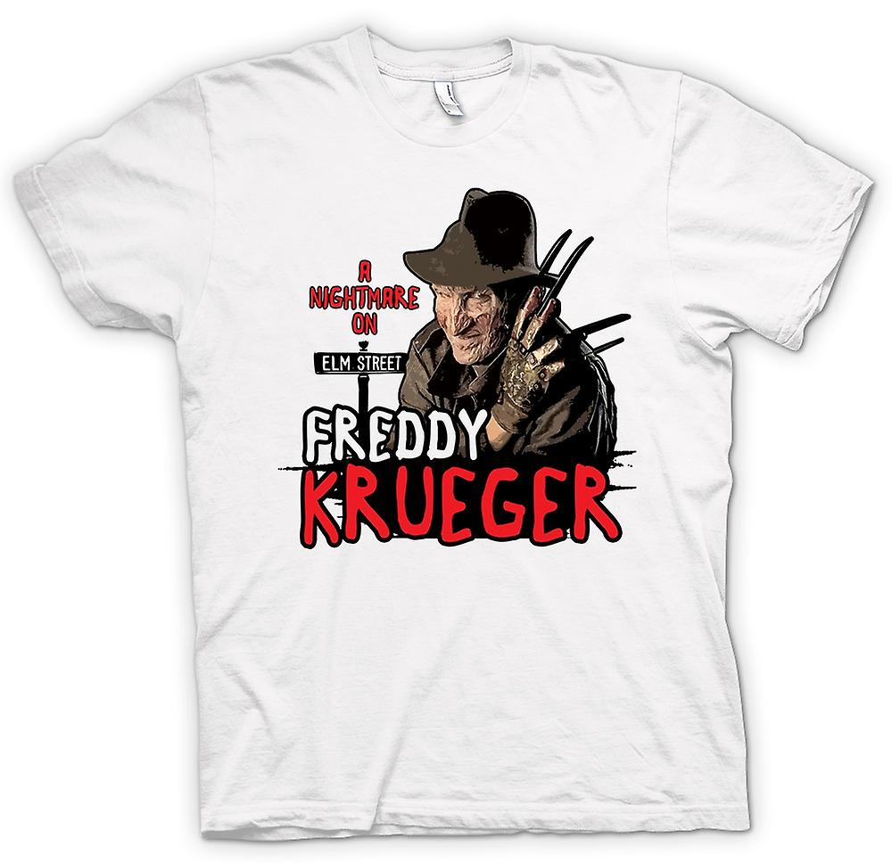 Mens T-shirt - Nightmare On Elmstreet - Freddy Krueger