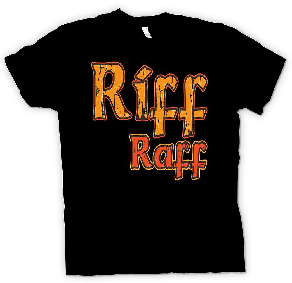 Mens t-skjorte-Riff Raff