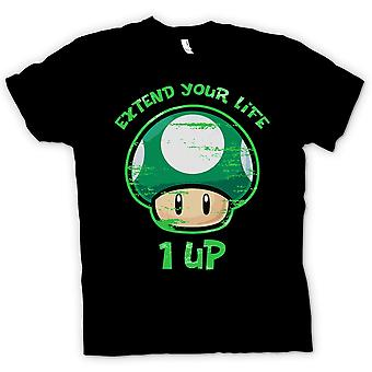 Mens T-shirt - Super Mario - Extend Your Life