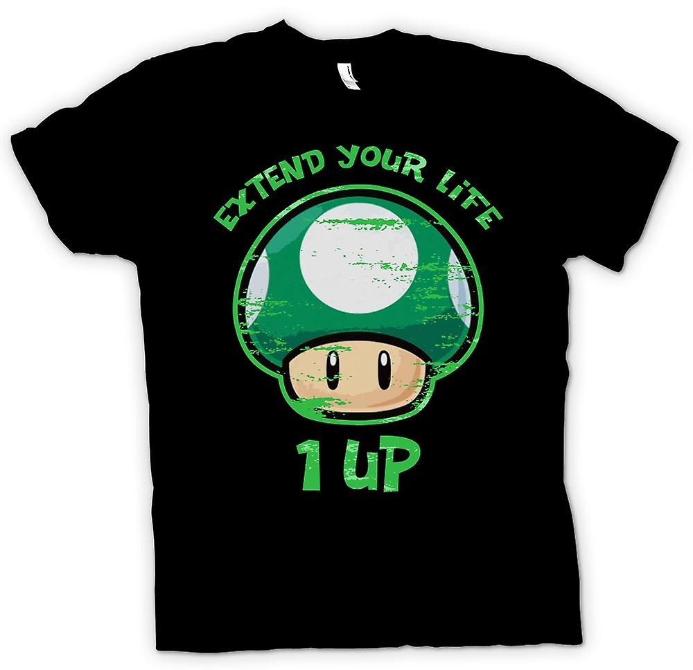 Kids T-shirt - Super Mario - Extend Your Life