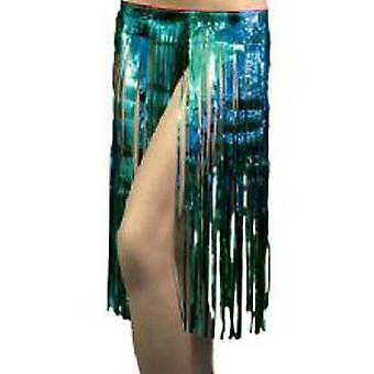Hawaiian glimmer nederdel - turkis ** kun 2 på lager **