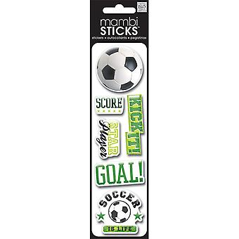 Puffy Stickers-Soccer