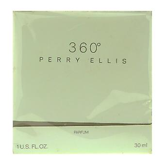 Perry Ellis 360 Parfum 1,0 Oz/30 ml In Box (Vintage)