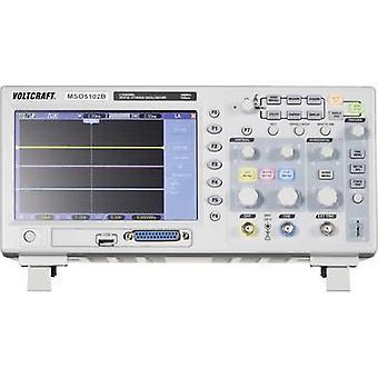 فولتكرافت MSO-5102B الرقمية 100 ميجاهرتز 1 18-قناة الرابطة/s 512 رقمي 8 بت kpts التخزين (DSO)، إشارات مختلطة (MSO)