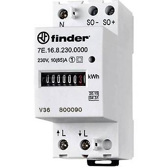 Finder 7E.16.8.230.0010 Electricity meter (AC) Mechanical 65 A MID-approved: Yes