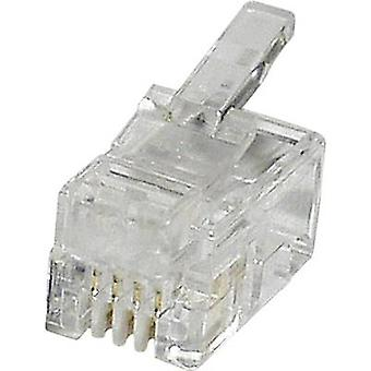 Modulkontakt Plug, raka MPL44 tydliga econ ansluta MPL44 1 dator