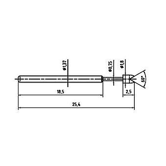 PTR 1015-G-0.7N-AU-1.8 Precision test tip