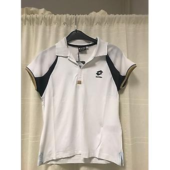 Lotto Polo WTA Tour guld af hvid/navy G7959