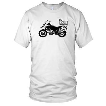BMW GS1200 Adventure Motorcycle Motorbike Tourer Ladies T Shirt