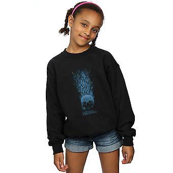 Fantastic Beasts Girls The Crimes Of Grindelwald Skull Smoke Sweatshirt
