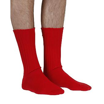 Fremont men's elastic free (soft topped) cotton dress socks in brigade