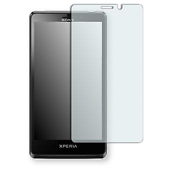 Sony Xperia LT30at screen protector - Golebo crystal clear protection film