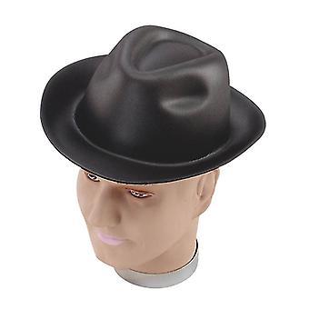 Chapeau de gangster. Mousse.