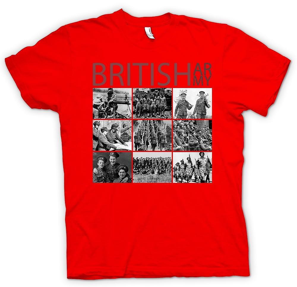 Mens t-shirt - World War 2 - l'esercito britannico