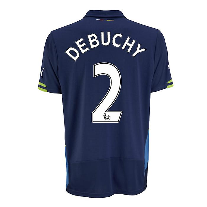 2014-15 Arsenal Third Cup Shirt (Debuchy 2)