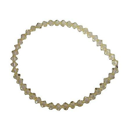Jonquil Swarovski Crystals Bracelet Stretchable Bracelet Jewelry