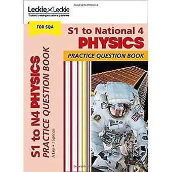 Practice Question Book for CfE and SQA - S1 to National 4 Physics Practice� Question Book (Practice Question Book for CfE and SQA)