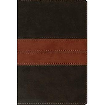 ESV personlig referens Bibeln (Trutone, djupt brun/Tan, Trail Design)