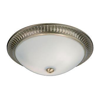 Brahm Indoor Flush plafondlamp - Endon 91123