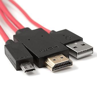 محل محول كابل USB الصغير هدمي سامسونج جالاكسى S3 S4 & الملاحظة 2