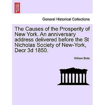 ニューヨークの繁栄の原因記念日のアドレスは、ニューヨーク Decr の聖ニコラス協会の前に配信された 3d 1850。バイベッツ & ウィリアム