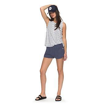 Roxy Womens Tide Down Shorts - Nightshadow Blue
