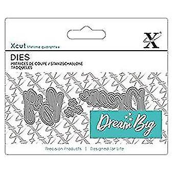 Docrafts Xcut Mini Sentiment Die (3pcs) - Dream Big (XCU 504052)