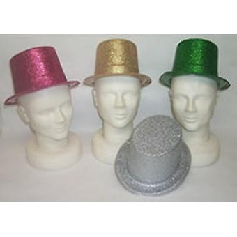 ألوان متنوعة بريق قبعة (12 إلى حزمة)
