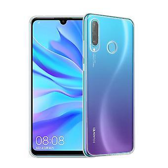 Huawei P30 Lite Handyhülle Case Hülle Silikon Transparent