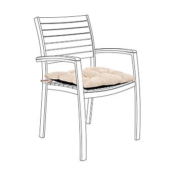Gardenista® Water Resistant Stone Tufted Chair Seat Kissen