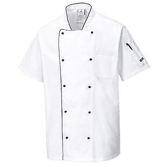 Portwest C676 chaqueta de chefs Aerated