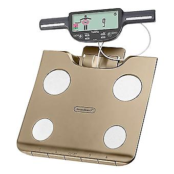 Tanita Segmental Body Compostion Monitor with SD Card - Champagne Gold (BC601CG)