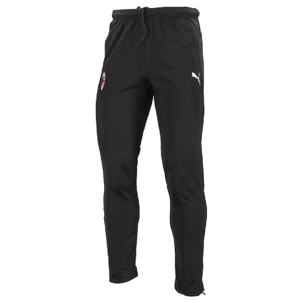 2019-2020 AC Milan Puma Training Pants (Black) - Kids