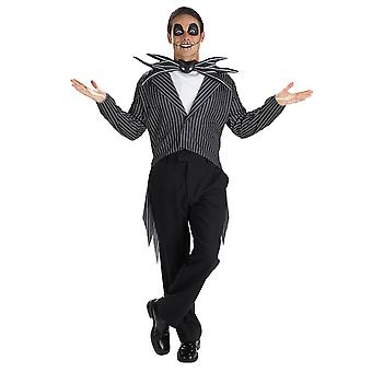 Jack Skeletron classico Disney The Nightmare Before Christmas Mens Costume XL