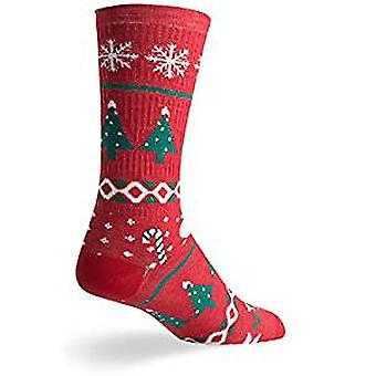 Socks - SockGuy - Holiday/Limited Edition Sweater Red 3 S Cycling/Running