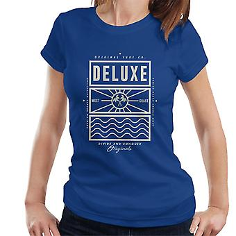 Divide & Conquer Deluxe Surf Co kvinnor ' s T-shirt