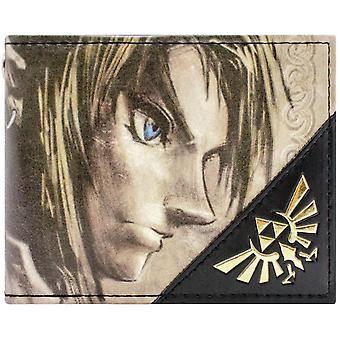 Nintendo Legend of Zelda Twilight Link Gold ID & kortti BiFold lompakko